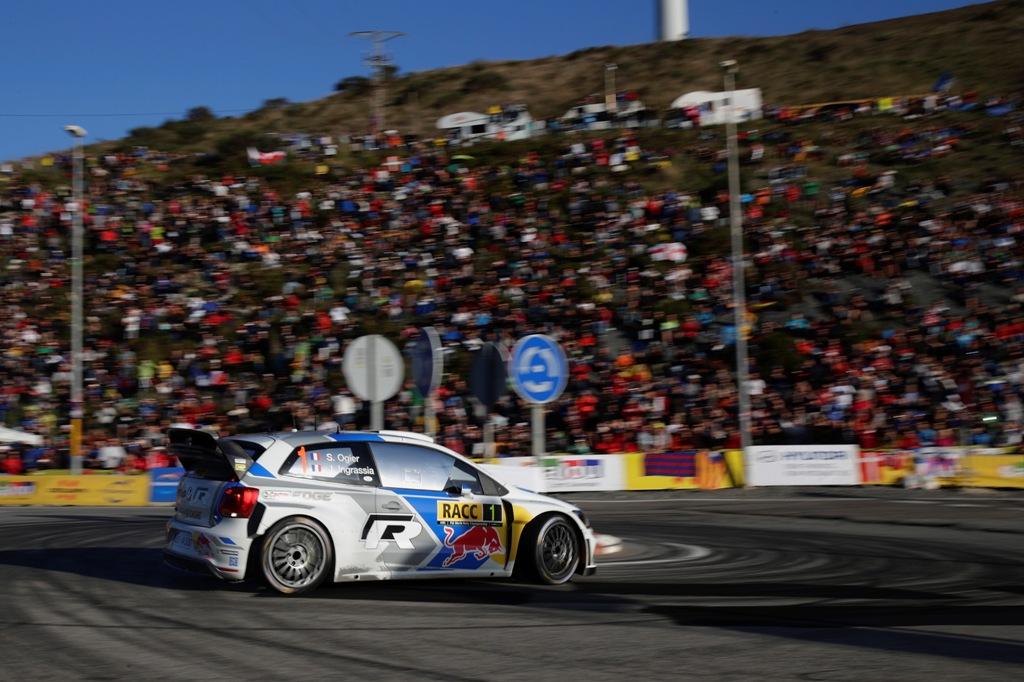 WRC 2014, Spagna, la Polo R WRC Campione del Mondo 2014