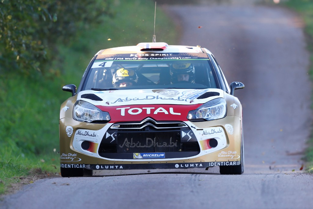 WRC 2014, Spagna, Mads Ostberg e la Citroen, molti forti sull'asfalto spagnolo