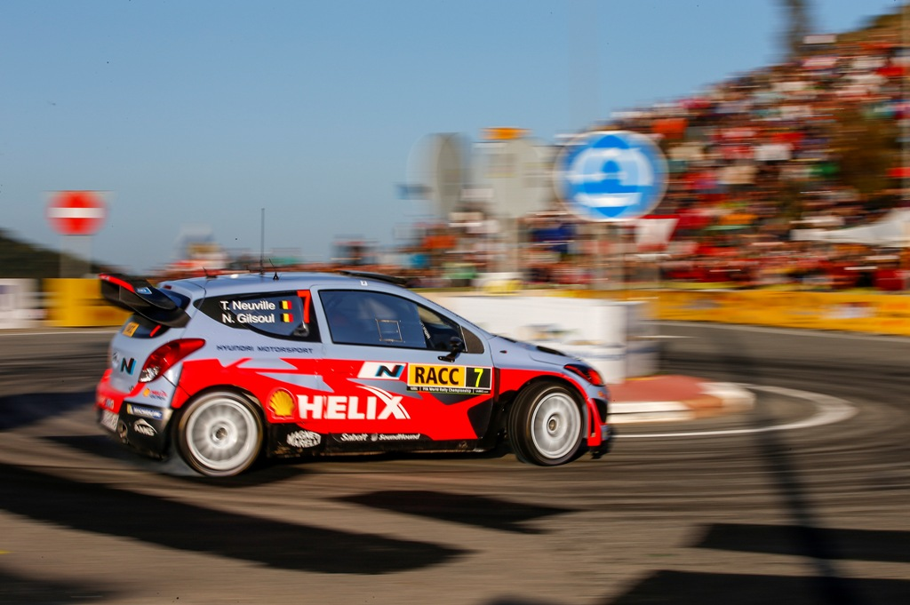 WRC 2014, Spagna, Thierry Neuville, 6° al traguardo spagnolo