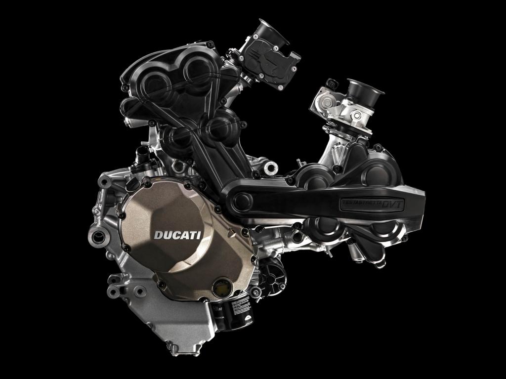 Ducati Testastretta lato distribuzione DVT