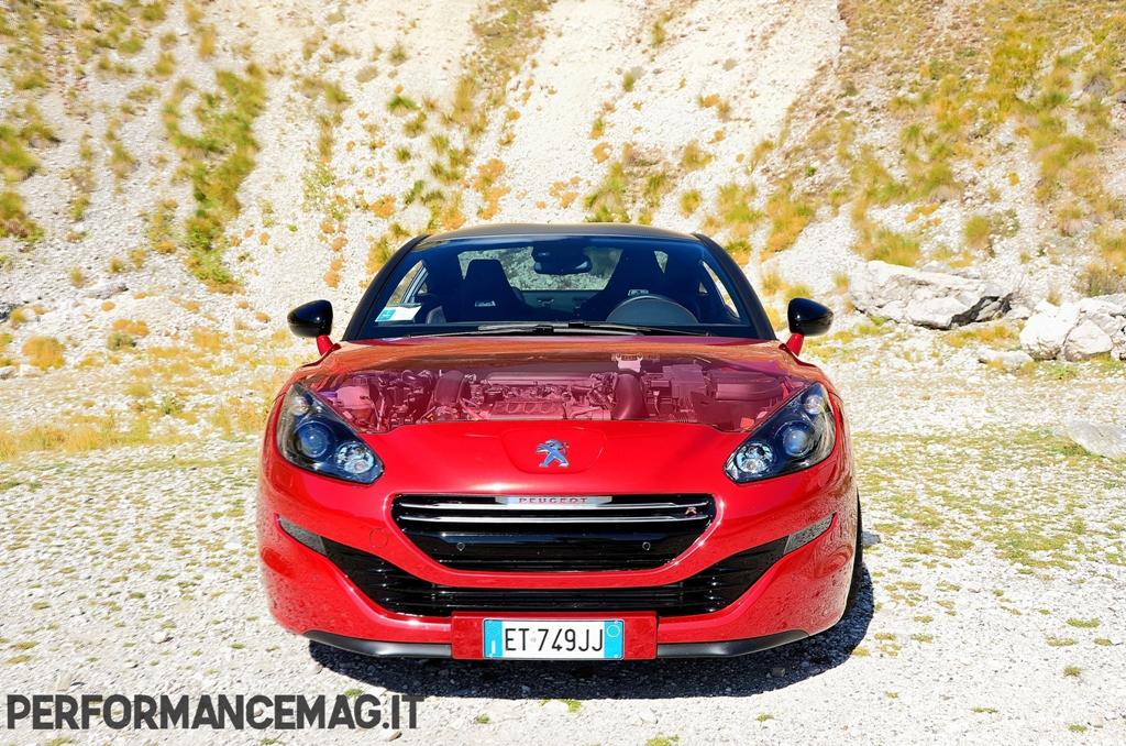 RCZ-R Peugeot, trazione anteriore per i 330 Nm di coppia del turbo francese