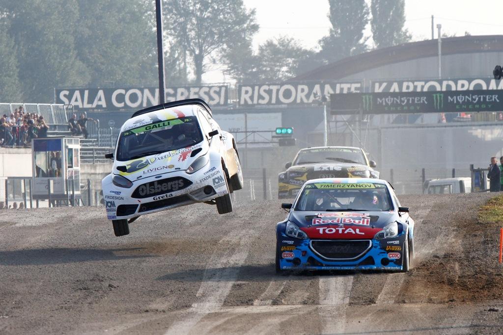 FIA Rallycross 2014: il grande ritorno di Gigi Galli