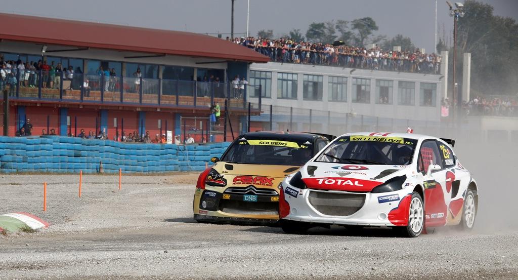 RX Round 10 Franciacorta: Jaques Villeneuve e Petter Solberg