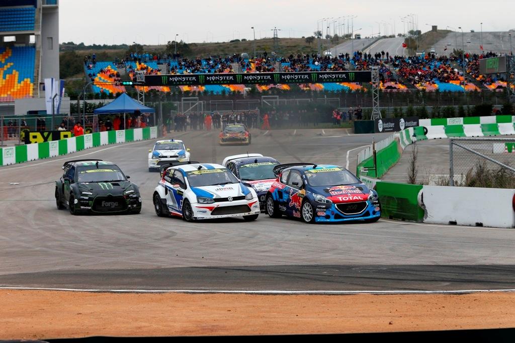 WRX FIA 2014, GP Turchia: prime fasi della Supercar