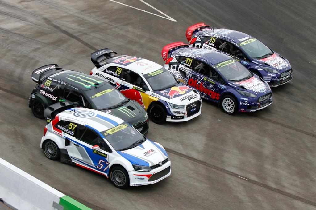 WRX 2014: GP della Tuchia, partenza della finale Supercar