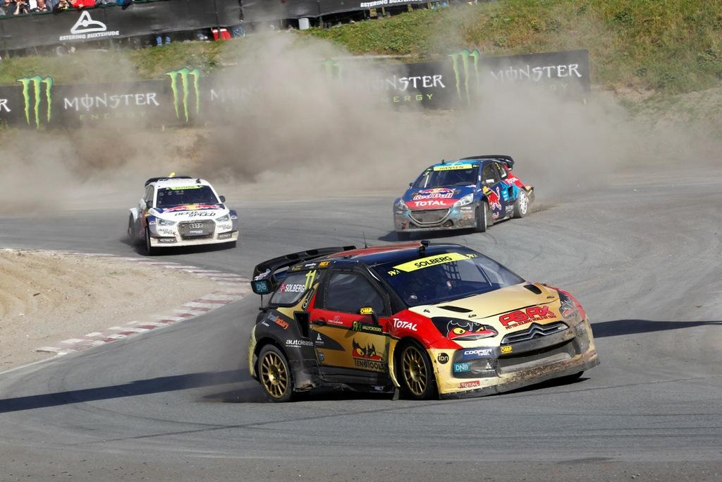 FIA Rallycross 2014: Solberg a suo agio sulla pista di Franciacorta
