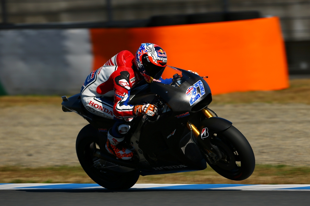 Casey Stoner, test Motegi HRC, Michelin