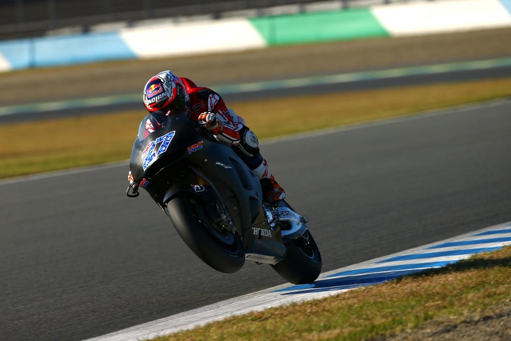 MotoGP test 2015 Motegi, Casey Stoner test