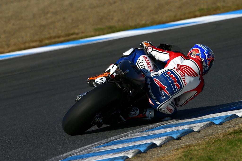 MotoGP test 2015 HRC, Motegi, Casey Stoner due giorni di test intensi