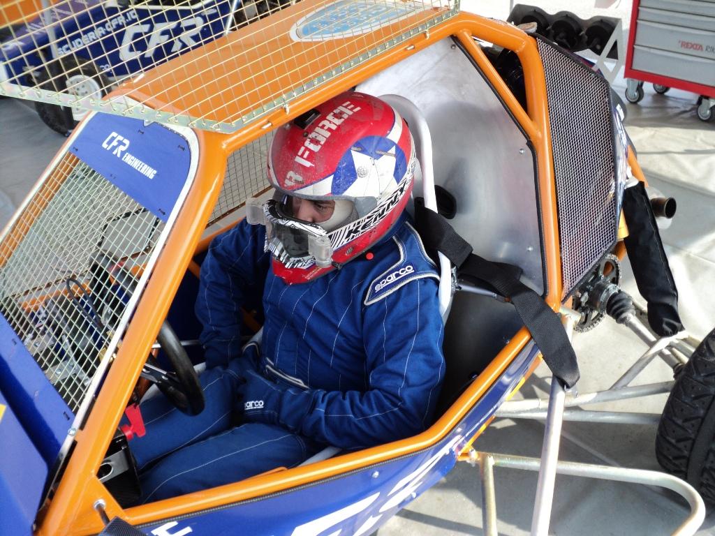 Franciacorta 2014: l'abitacolo del kartcross by CFR