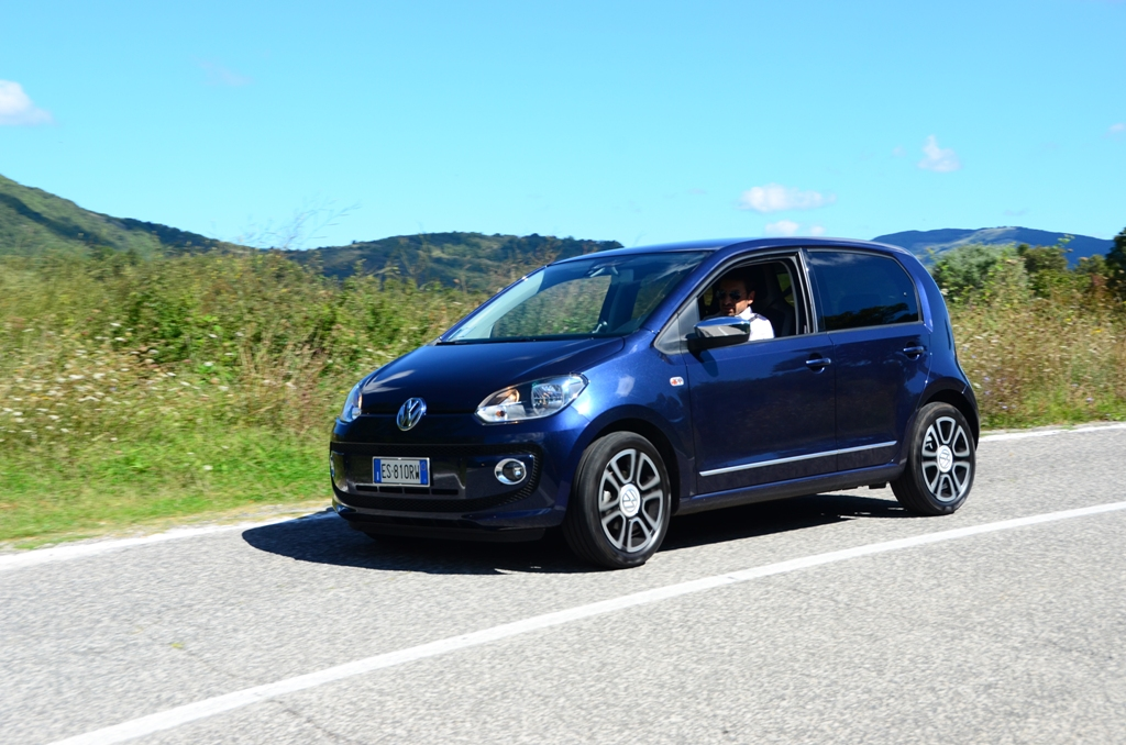 Volkswagen UP! non è solo una vettura da città, ma un'auto per tutto