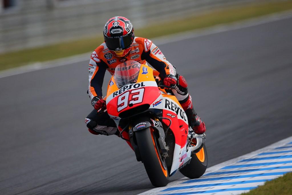 Marc Marquez, fresco del titolo MotoGP 2014