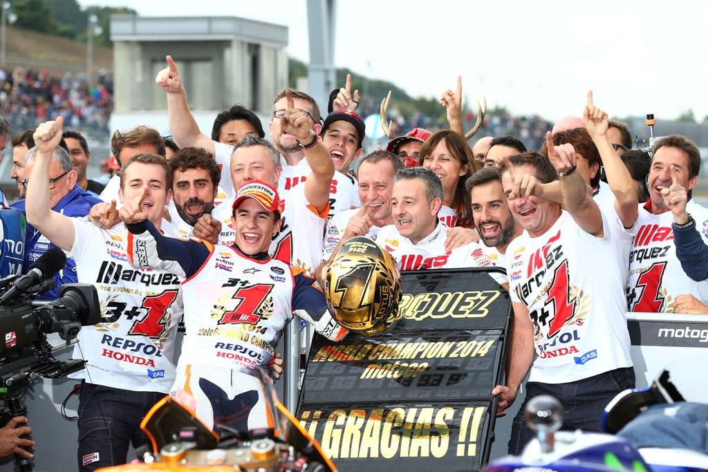 MotoGP 2014, Motegi: titolo numero due per Marquez