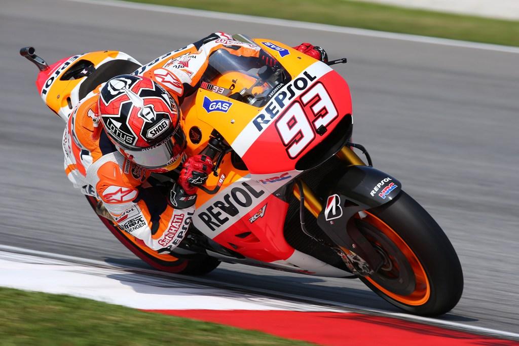 MotoGP 2014, Malesia, Marc Marquez regala a Honda il titolo Costruttori