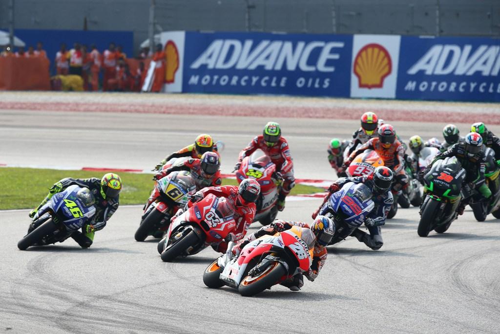MotoGP 2014, GP Malesia, Dani Pedrosa, partenza gara