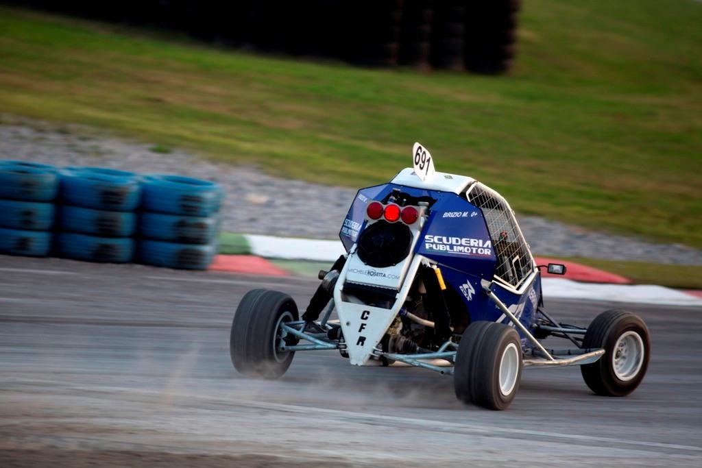Kartcross Franciacorta 2014, circuito velocissimo quello allestito per l'RX iridato