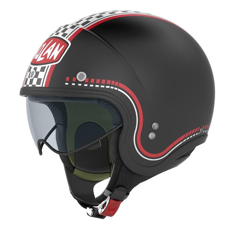 N21 Black, è il nuovo casco vintage Nolan