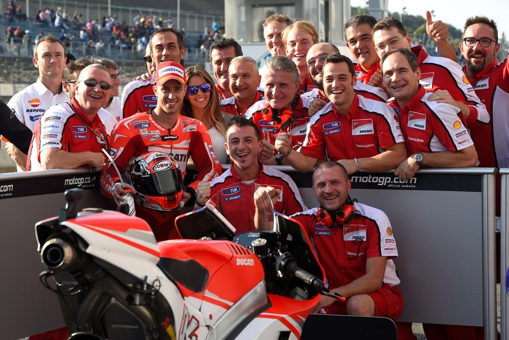 MotoGP 2014: Dovizioso ma soprattutto Ducati in crescita