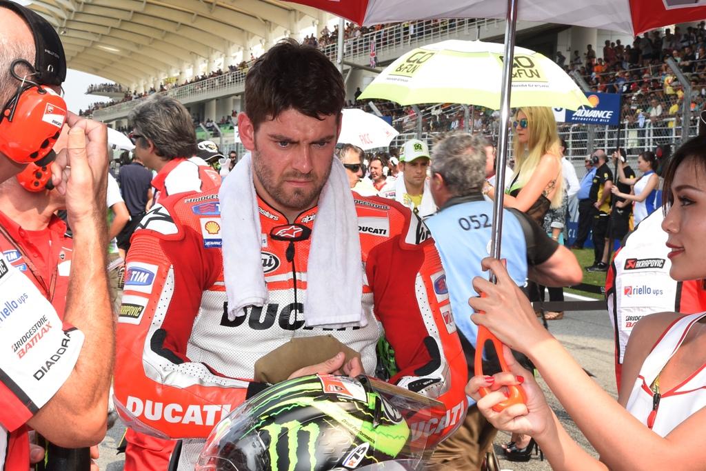 MotoGP 2014, Malesia, Cal Crutchlow, fermato da un problema tecnico