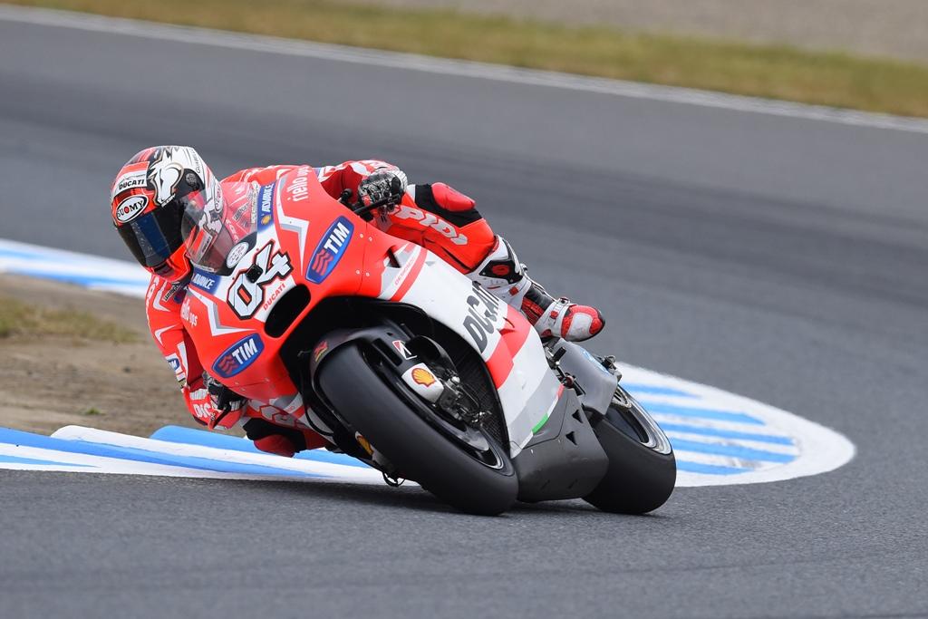 MotoGP 2014: Andrea Dovizioso, ottima pole position per lui a Motegi