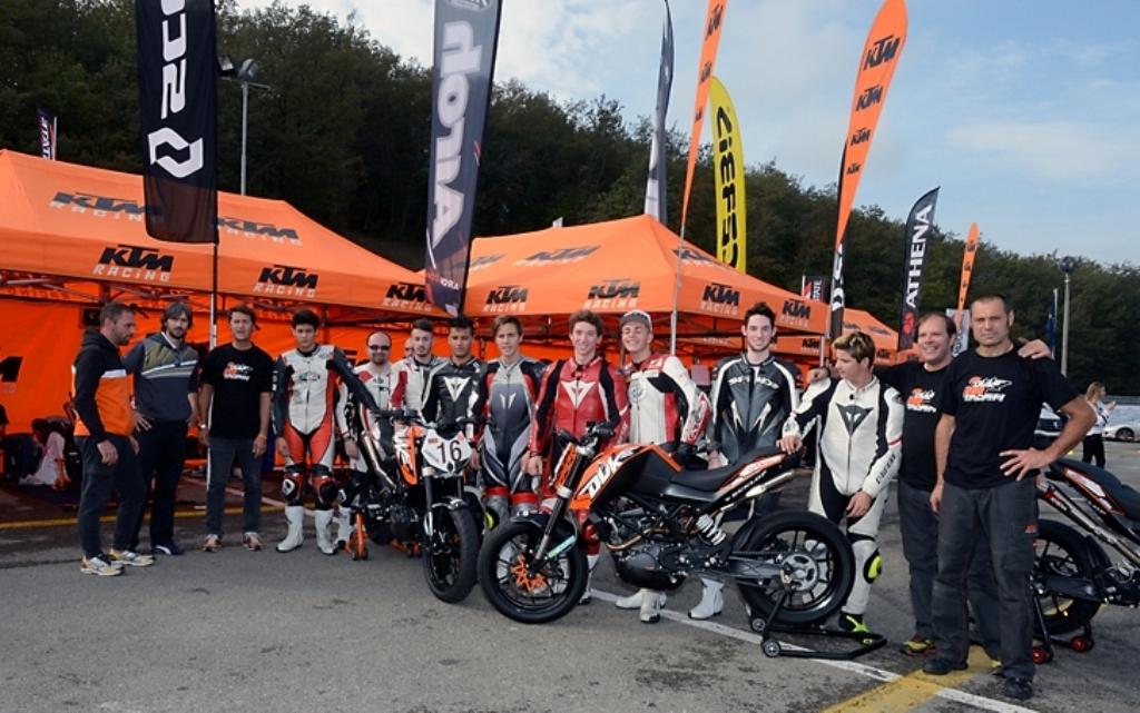KTM 2014, Duke 200 Trophy: i protagonisti dell'edizione 2014