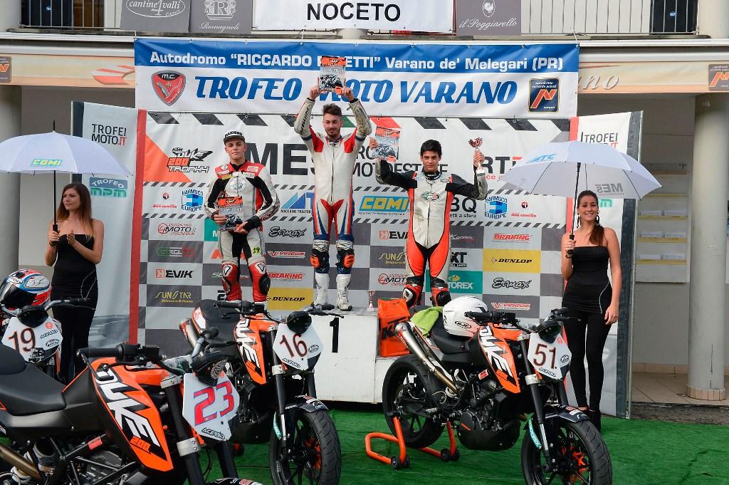 KTM Duke 200 Trophy 2014: podio Varano, finale