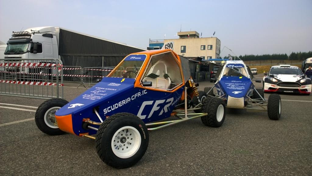 Il kartcross CFR monta un propulsore della CBR600RR da 110 Cv