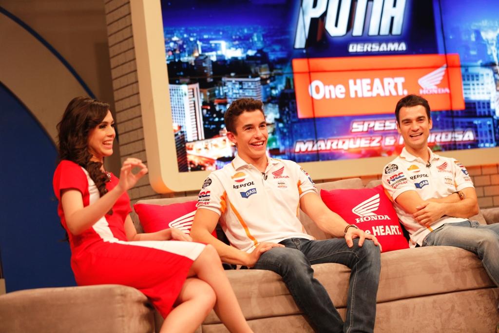 MotoGP 2014: Pedrosa e Marquez alla tv indonesiana