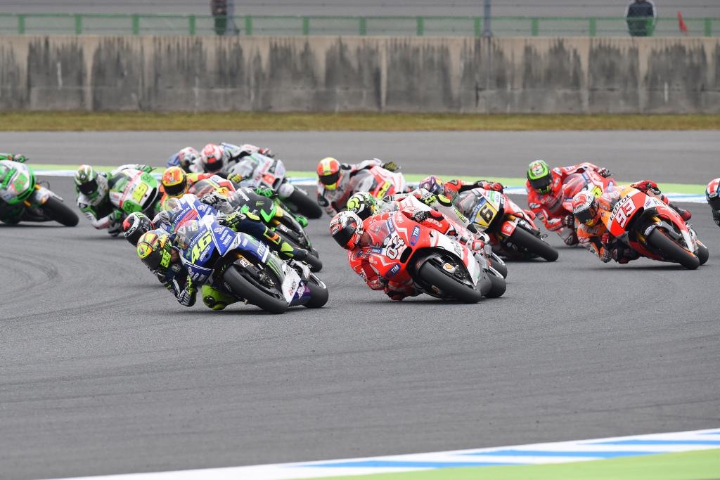 MotoGP 2014: la partenza a Motegi della MotoGP, Round 15 del Motomondiale