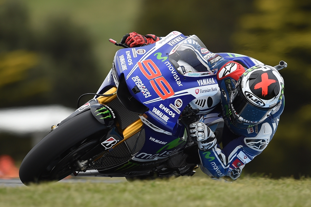 MotoGP 2014, Australia, Jorge Lorenzo 2° a Phillip Island