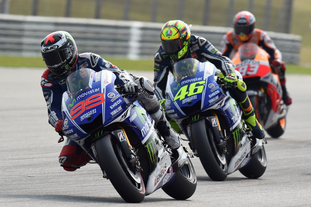 MotoGP 2014, Malesia, Jorge Lorenzo nel duello con Rossi e Marquez