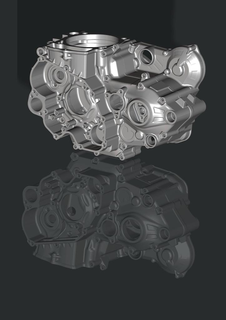 Beta Enduro RR 2015, il basamento delle 4T è più leggero di 1 e 1,5 kg