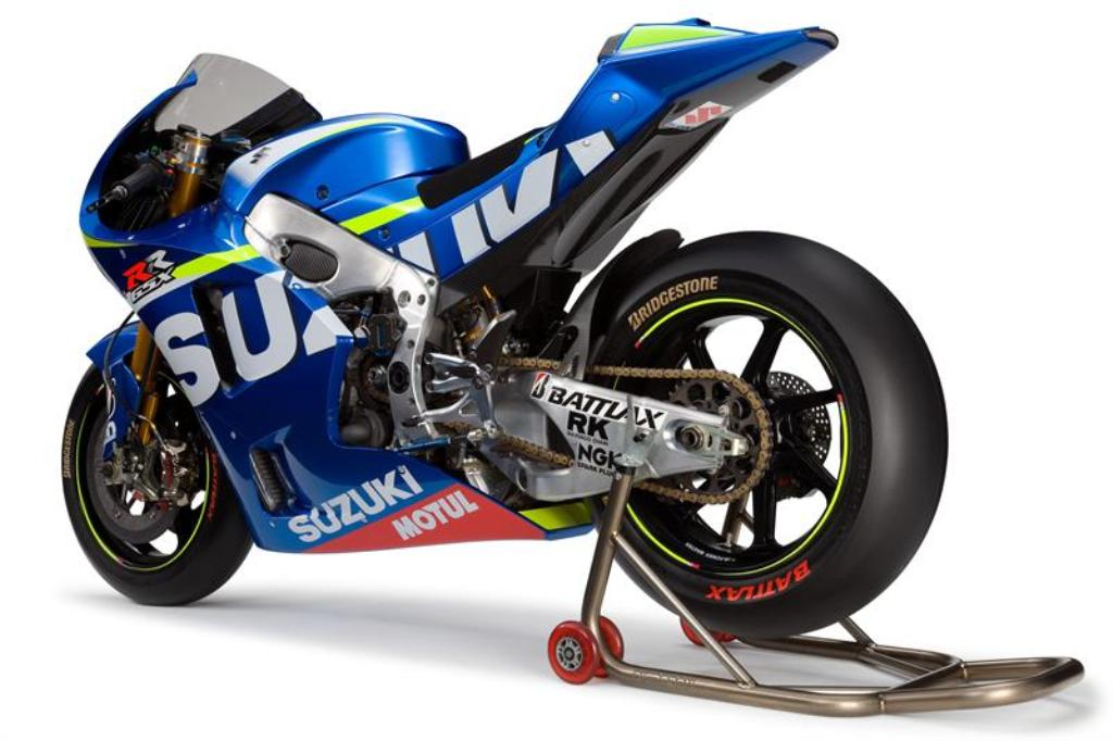 MotoGP 2014: la Suzuki GSX-RR MotoGP debutterà in gara a Valencia