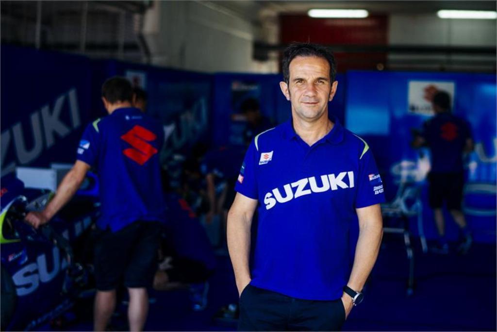MotoGP 2014. Davide Brivio Team Manager Suzuki MotoGP