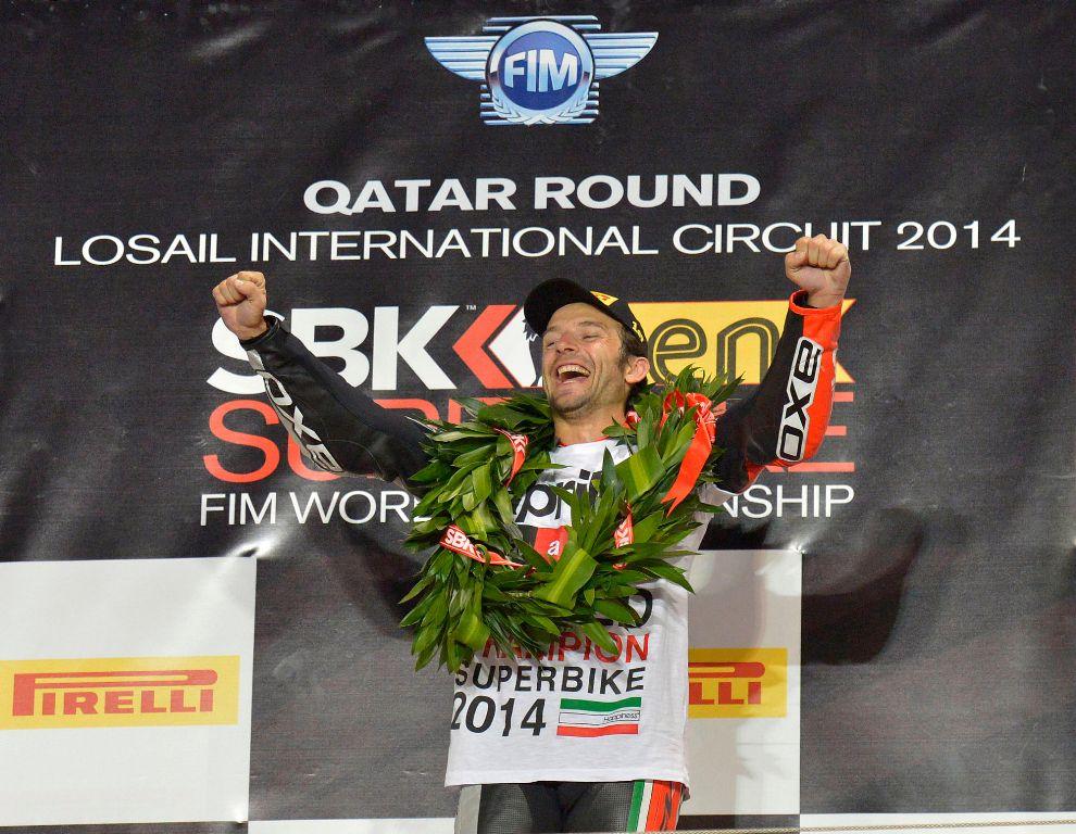 Aprilia Racing, SBK 2014, Sylvain Guintoli Campione del Mondo 2014