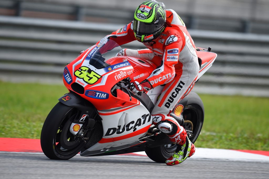 MotoGP 2014: Cal Crutchlow correrà a Valencia l'ultima gara sulla sua Ducati