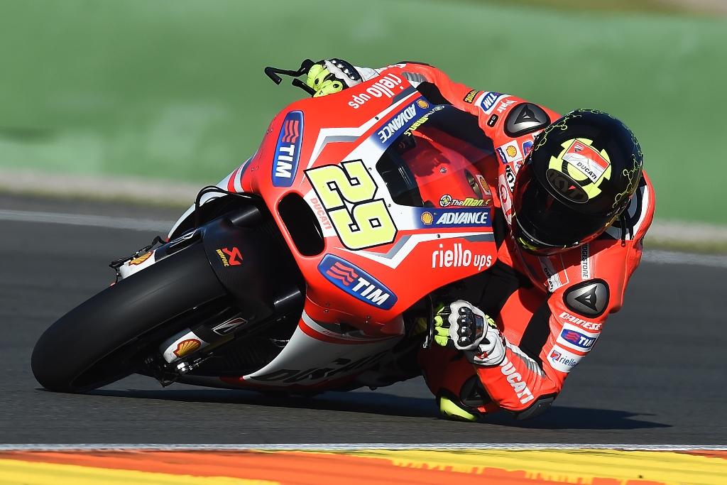 MotoGP 2014, test Valencia, Andrea Iannone, debutto sulla factory GP14