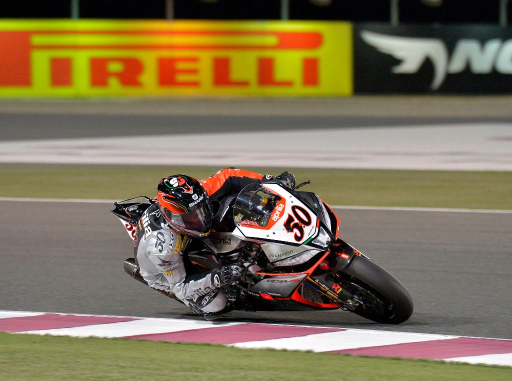 SBK 2014 Qatar, Guintoli ha corso una rimonta incredibile per il titolo 2014