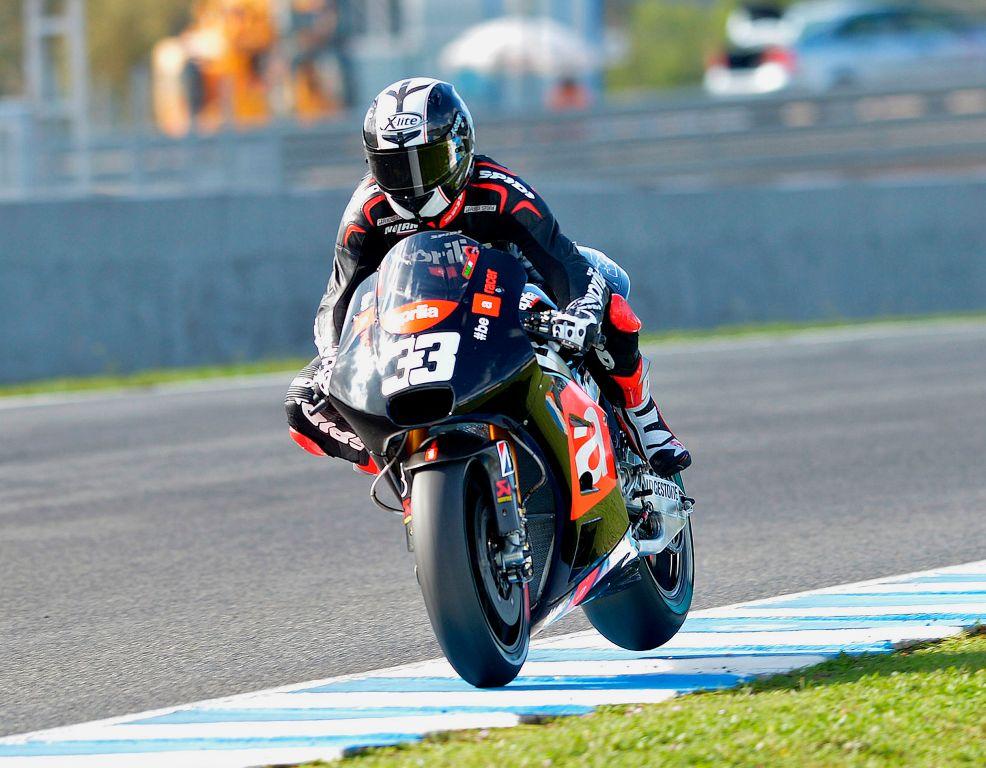 Test Jerez, novembre 2014, ApriliaRacing Marco Melandri