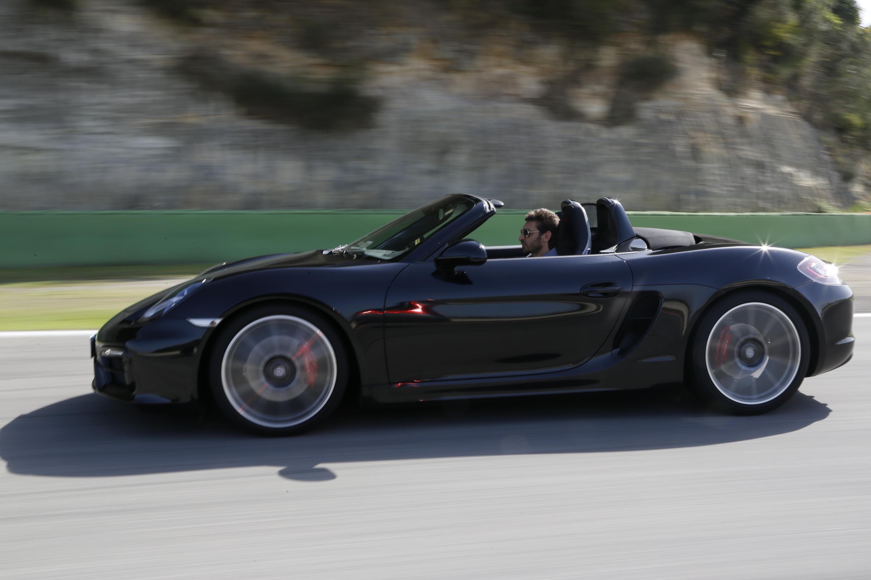 """La nuova Boxter GTS Porsche rivela un altro carattere quando è """"openspace"""""""