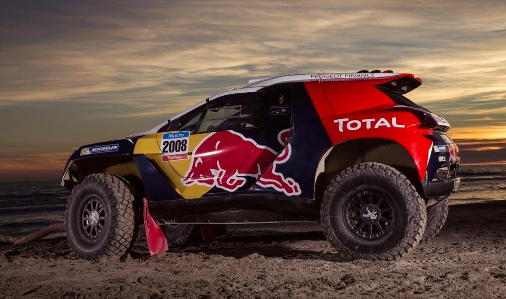 Peugeot 2008 DKR, vettura nuovissima ed innovativa 2x2