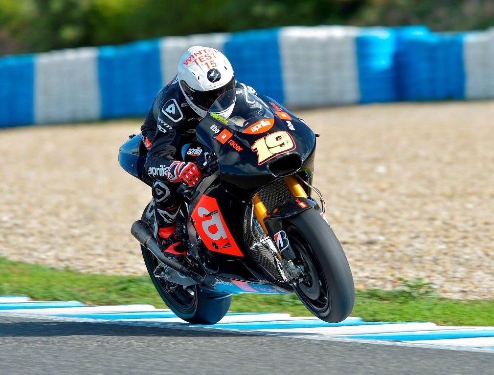 Test Jerez MotoGP, Aprilia Racing, provato il nuovo V4 a valvole pneumatiche