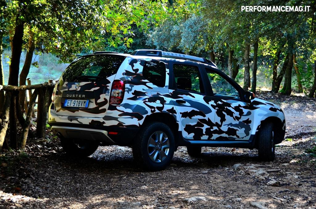 Dacia Duster 2014, versione Brave 4X4, originalissima ovunque