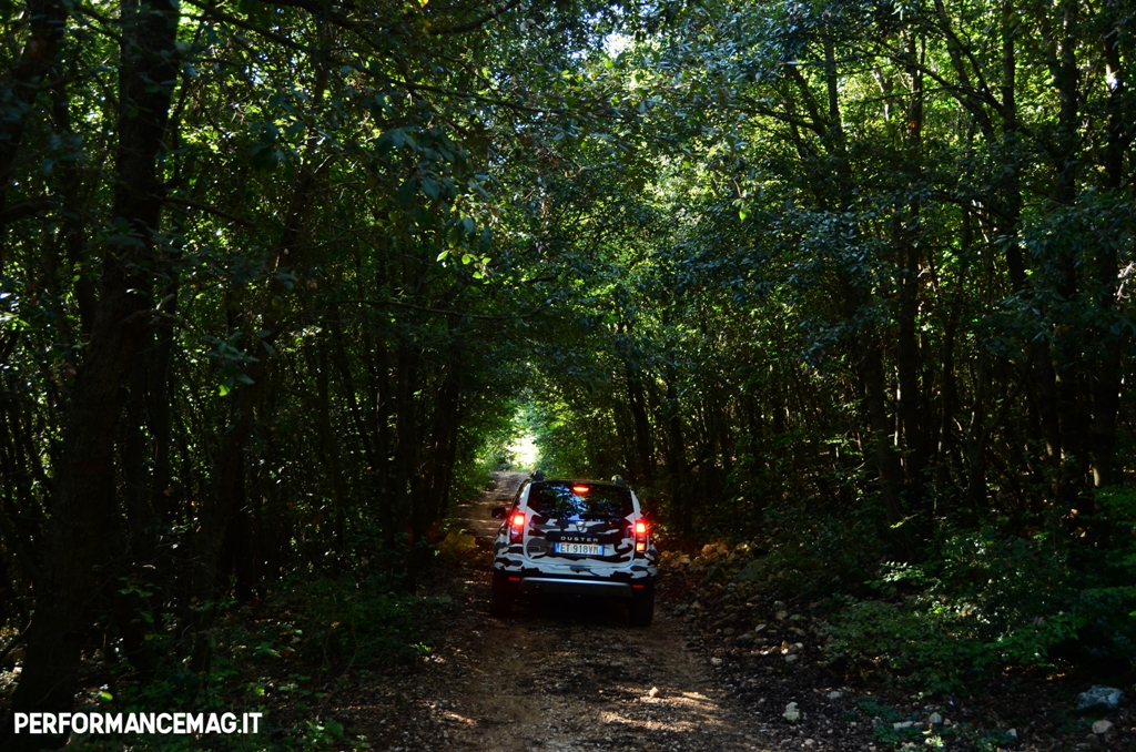 Dacia Duster new model, prova superata, si torna a casa...