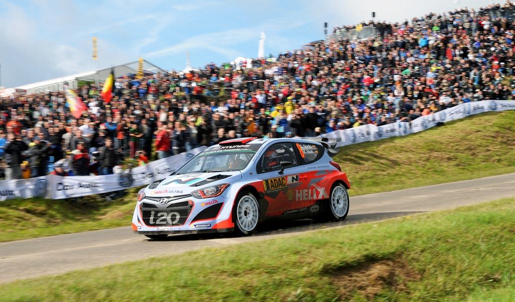 Dani Sordo a Rally di Germania WRC