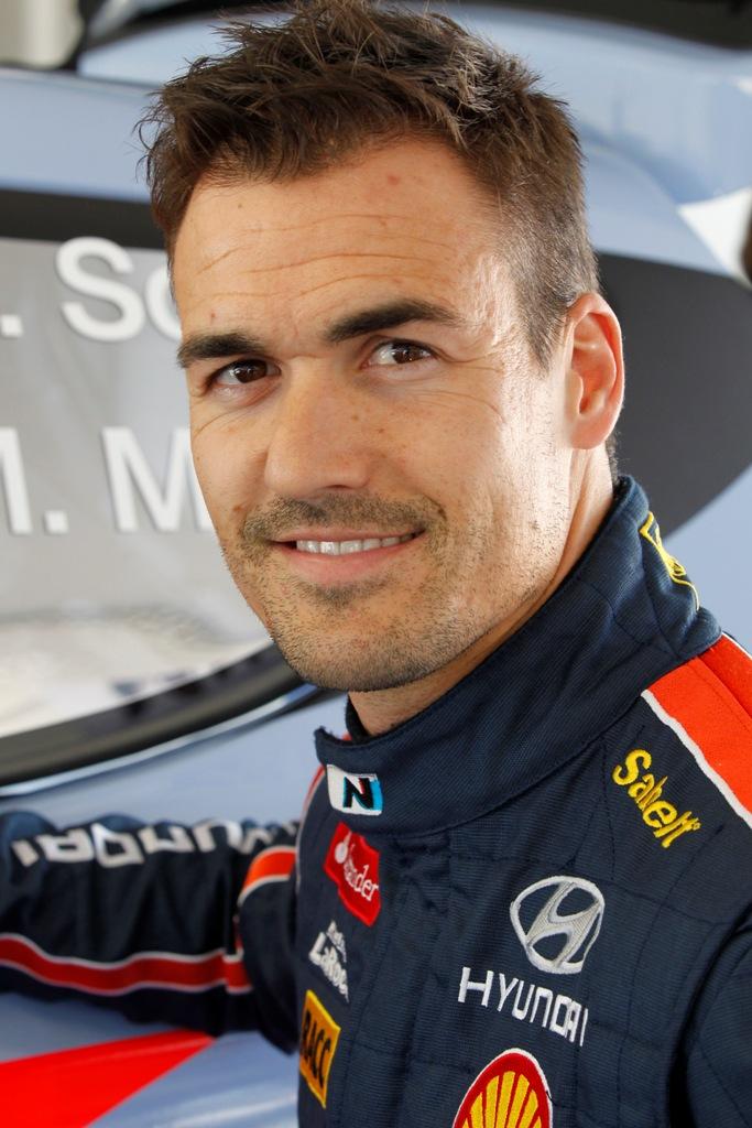 Dani Sordo, pilota Hyundai anche nel 2015/2016