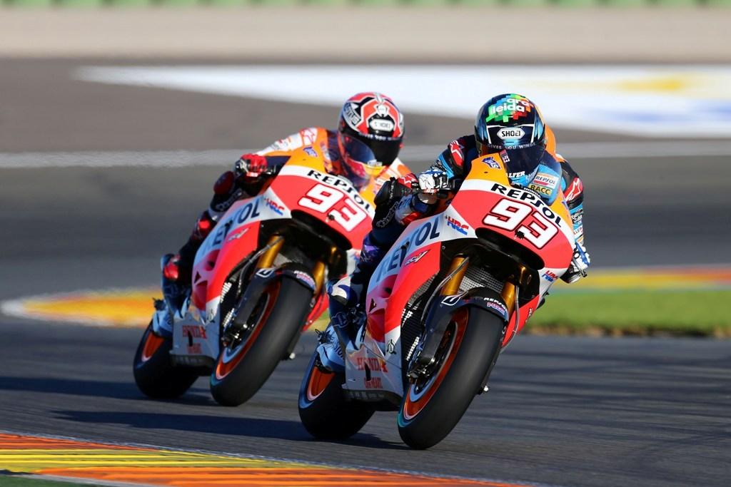 Vista doppia? No Alex e Marc Marquex a Valencia per il test della RC212V