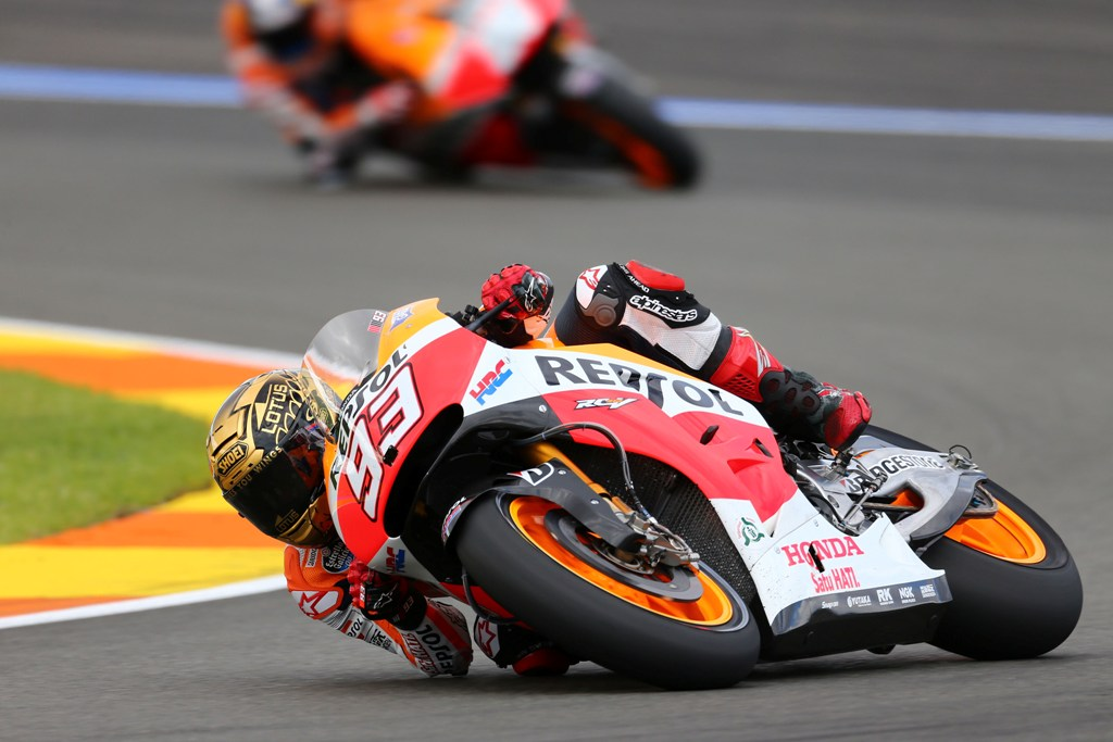 MotoGP, Valencia 2014, Marc Marquez vincitore a Valencia