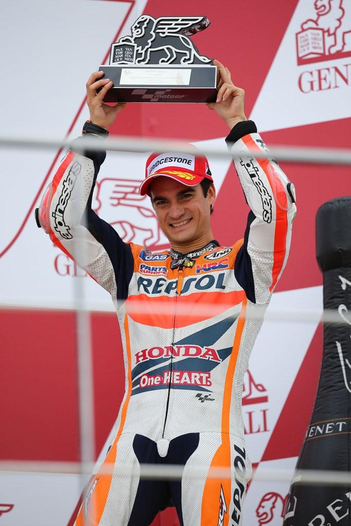 MotoGP Valencia 2014, Dani Pedrosa, terzo a Valencia