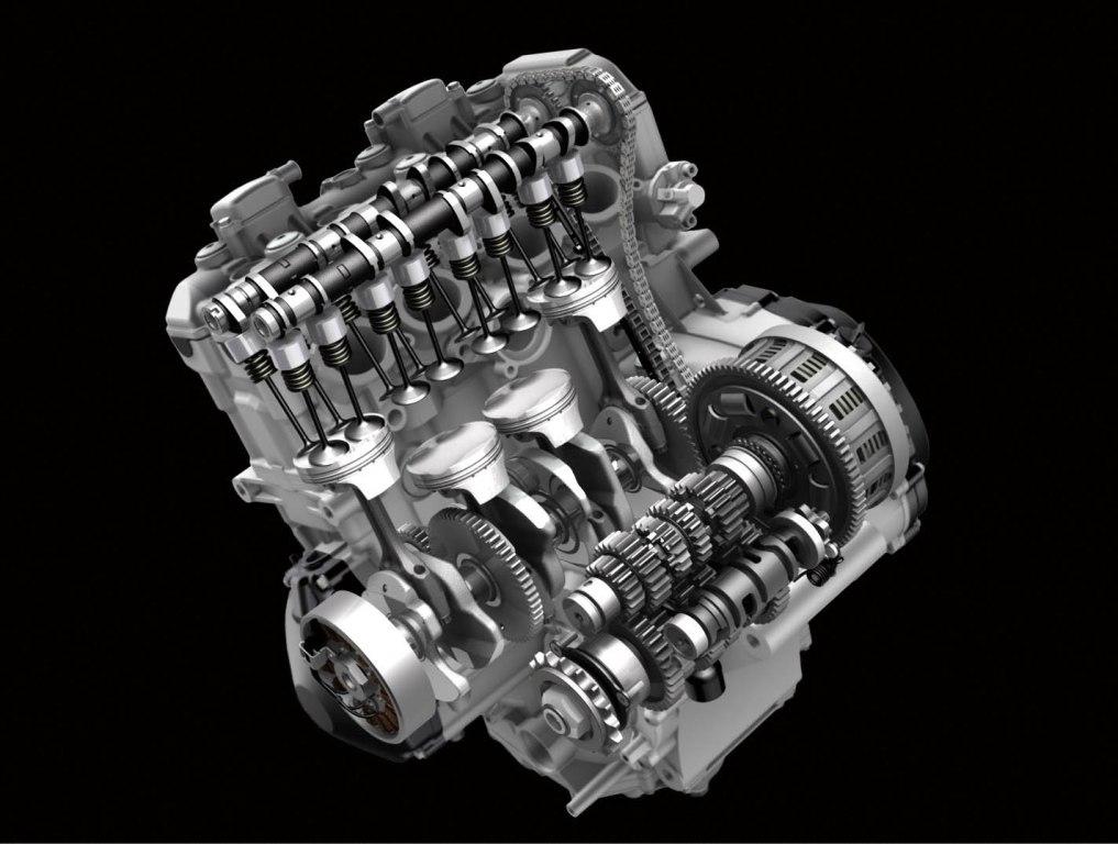 Suzuki GSX-R1000 ABS, il motore rivisto negli assi a camme per migliore erogazione